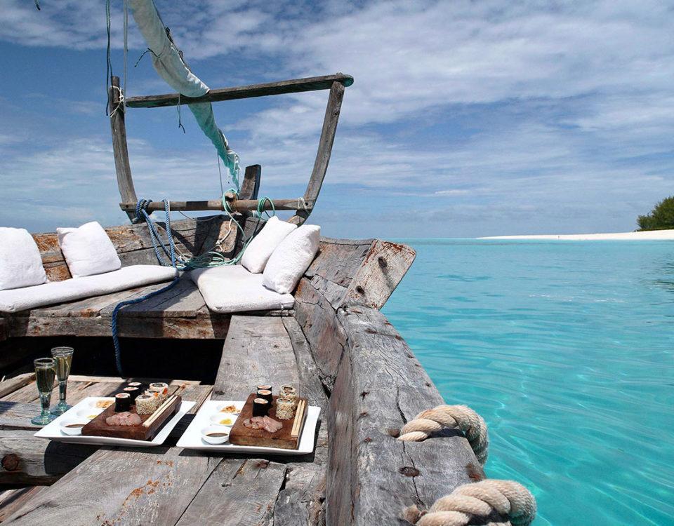 Boat Cruise Ride in Zanzibar
